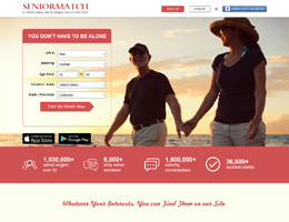 SeniorMatch is the No.1 senior dating website based on our editor's reviews  of 10 dating sites in this niche. Since launching in 2001, it has gained  broad ...